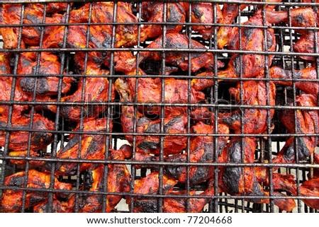 Achiote Chicken Grilled Chicken in Red Achiote
