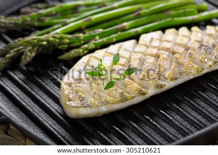 Vector images illustrations and cliparts grilled fish for Pan grilled fish