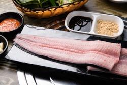 grilled freshwater eel korean food