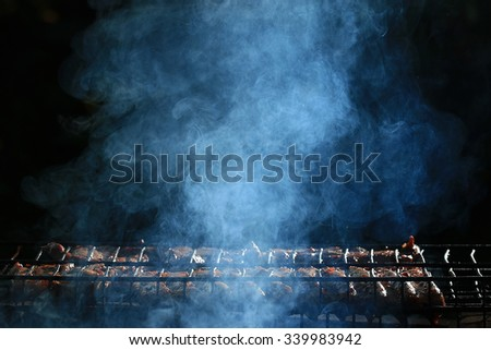 Shutterstock grilled meat smoke smoked barbecue