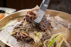 Grilled Pork Beef Korean BBQ