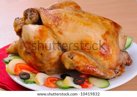 grilled turkey with vegetables