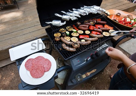 Grilling is a form of cooking that involves dry radiant heat from above or below, and takes place on a grill or griddle