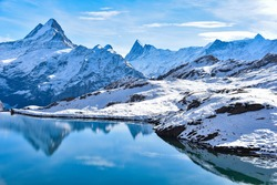 Grindelwald first : The giant snow moutain