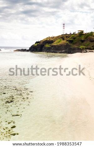 Gris Gris beach in the south of Mauritius in the Indian Ocean.Mauritius Island Foto stock ©