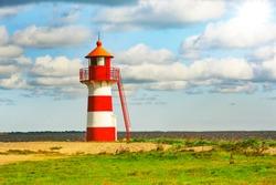 Grisetå Odde Fyr lighthouse in Denmark