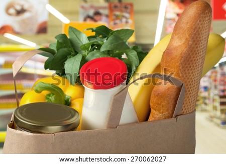 Groceries, Healthy Eating, Food.