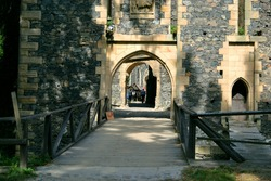 Grodziec Castle a late Gothic stronghold in Lower Silesia