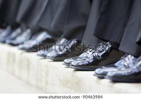 groomsmen's shoes