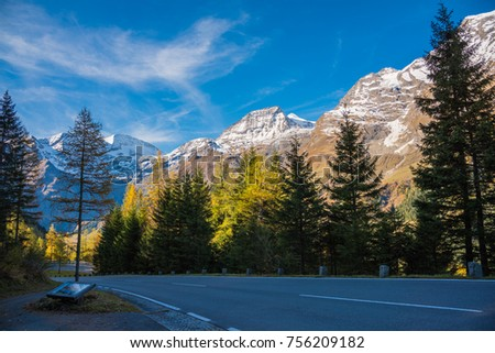 Grossglockner High Alpine road Austria is the most exciting drive road in Europe. We can drive high up into  the mountains to over 2571m and 48Km of fascinating panoramic roads across Austrian Alps.