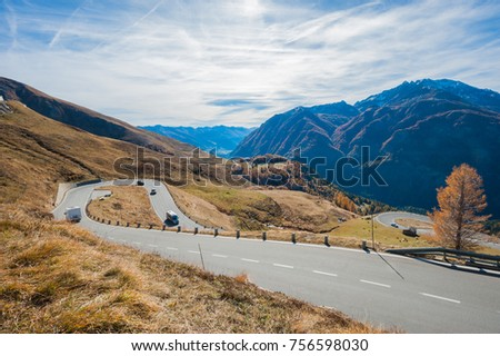 Grossglockner High Alpine Road Austria is the most exciting drive road in Europe. We can drive high up into the mountains to over 2571 m. We can see amazing and fascinating panoramic roads.