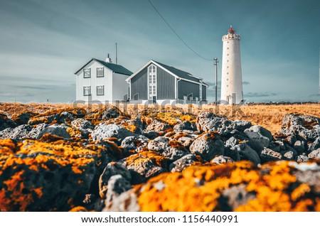 Grotta Lighthouse, Reykjavik, Iceland #1156440991