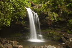 Grotto Falls - Great Smoky Mountain National Park