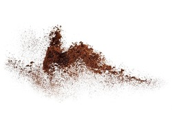 Ground coffee explosion