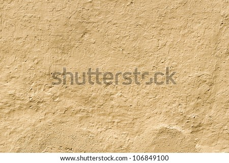 Ground colored wall - stock photo