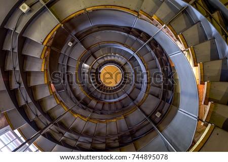 ground floor of artistic spiral ...
