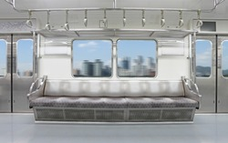 Ground subway indoor scenery - Seoul, Korea