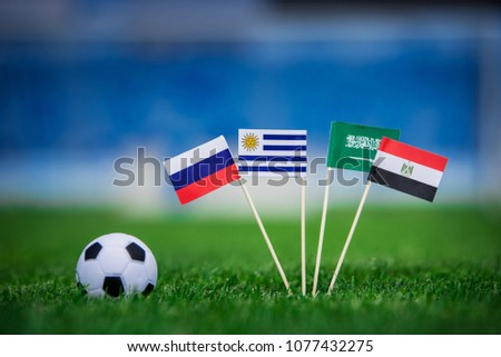 Group A draw in Football match #1077432275