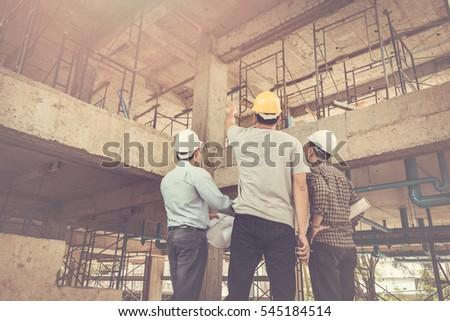 group business man construction ...