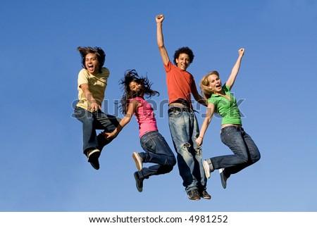group jumping #4981252