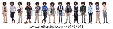 Group of afro #734969341