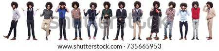 Group of afro #735665953
