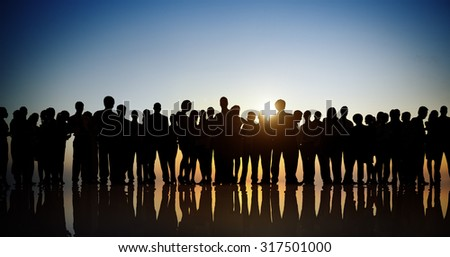 Group of Business People Colleague Corporate Concept #317501000