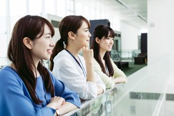 Group of businesswoman in office.