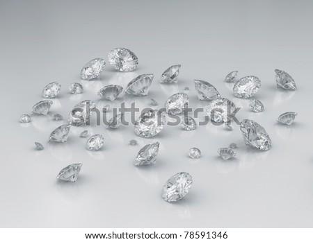 Group of diamonds