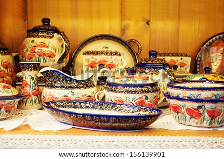 Group of Different Empty Pottery #156139901