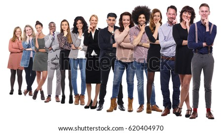 Group of full body people #620404970