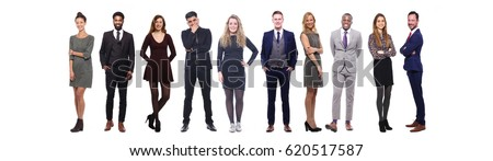Group of full body people #620517587