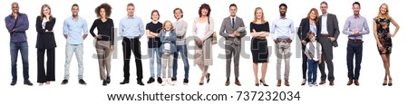 Group of full body people #737232034