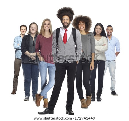 Group of happy business people  #172941449