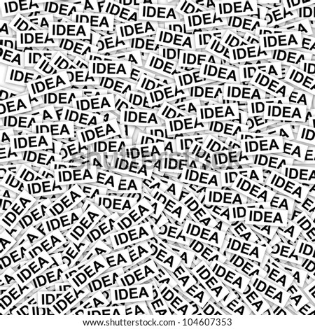Group of Idea Label Background