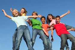 group of kids having fun(SEE MORE IN PORTFOLIO)