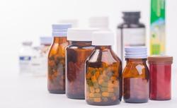 group of medicine bottle.