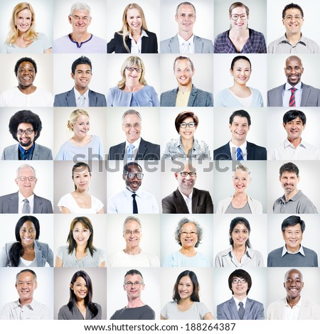 Group of Multiethnic Diverse Business People #188264387