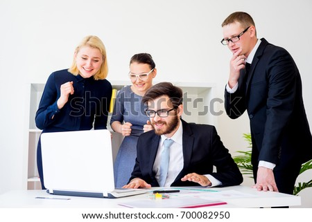 Group of office workers #700082950