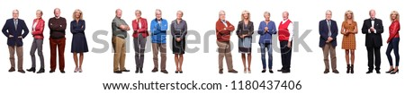 Group of old people #1180437406