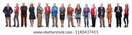 Group of old people #1180437415