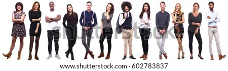 Group of people - Shutterstock ID 602783837