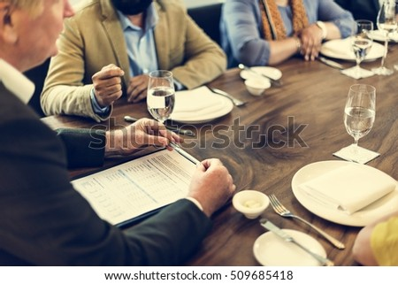 Group Of People Business Meeting Concept #509685418