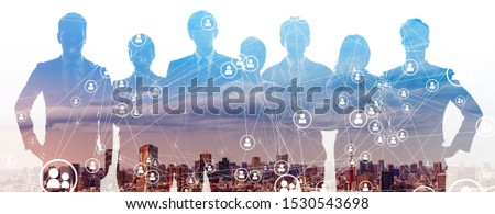 Group of people. Human Resources. Global network. Diversity. Foto stock ©