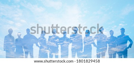 Group of people. Human Resources. Global network. Diversity. Сток-фото ©
