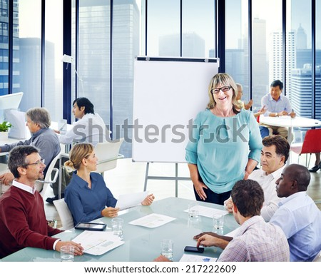 Group of People in a Meeting #217222609