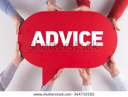 Group of People Message Talking Communication ADVICE Concept
