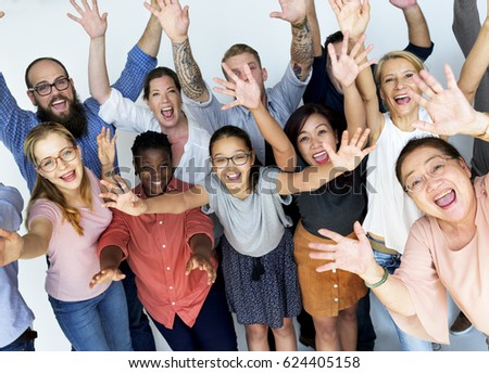 Group of People Togetherness Concept #624405158