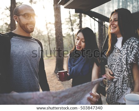 Group of People Traveling Concept #503847340