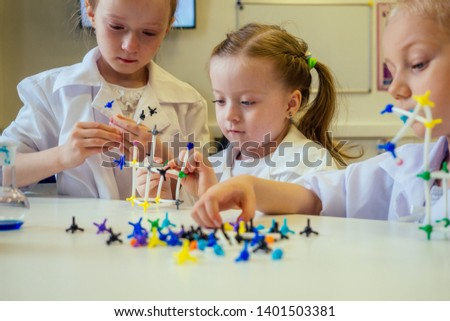 Experiments in a chemistry lab  The explosion in the